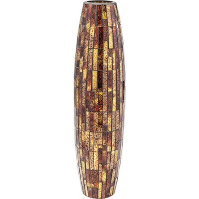 Vasija Mosaico marrón 59cm
