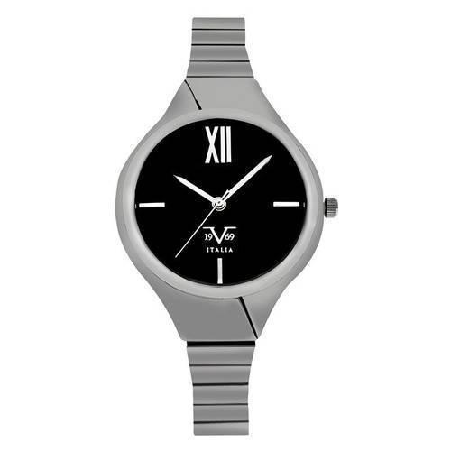 Reloj negro-plateado 15-1