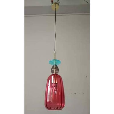 Lámpara Goblet Colore 1 rojo