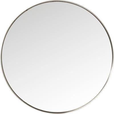 Espejo Curve redondo acero Ø100 cm