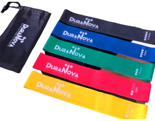 SET DE BANDAS DURANOVA EVOLUTION FITNESS
