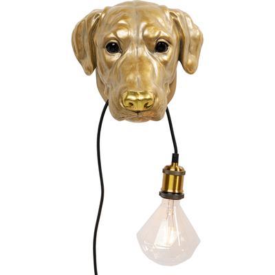 Lámpara pared Dog Head