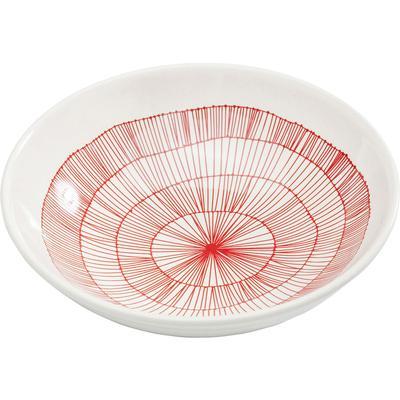 Plato Tief Net rojo Ø22cm