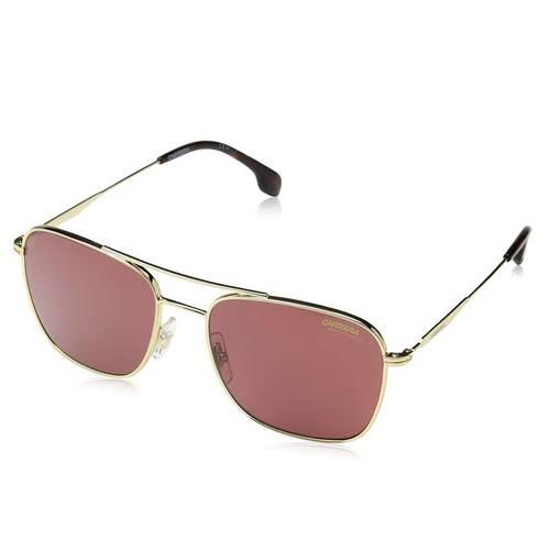 Gafas solar vinotinto-dorado 6-58