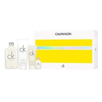 Calvin Klein Estuche CK One edt 200ml + Edt 15ml + Body Lotion 200ml + Body Wash 100ml