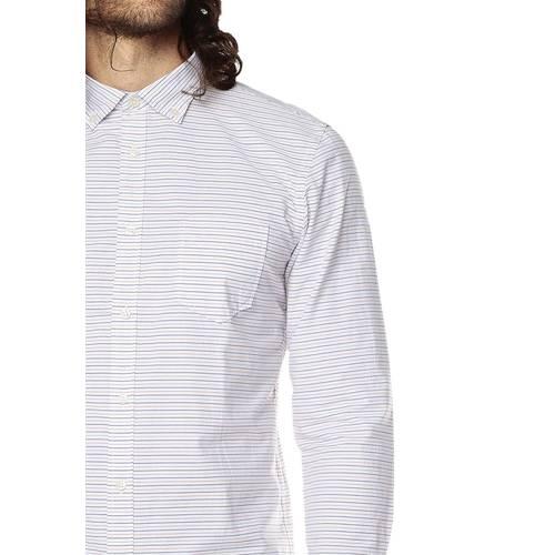 Camisa Manga Larga Para Hombre Rose Pistol - Blanco