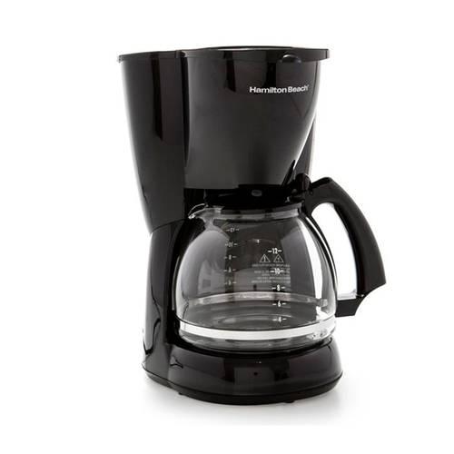 Cafetera 12 Tazas Negra Negra