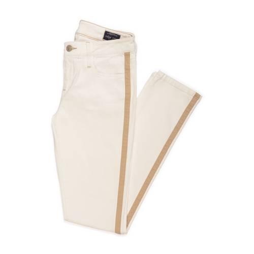 Pantalón Color Siete Para Mujer  - Beige