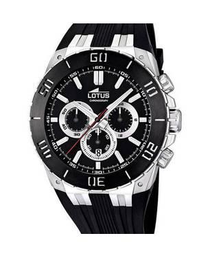 Reloj goma negra-negro 01-3
