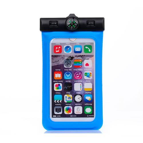 Estuche A Prueba De Agua Para Smartphone Con Brújula