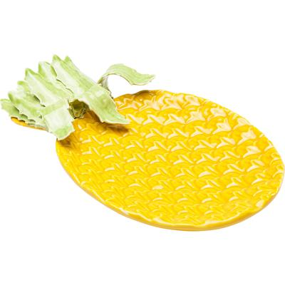 Plato decorativo Pineapple