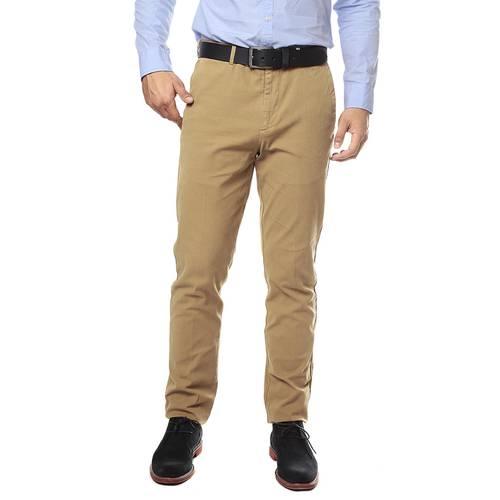 Pantalon Color Siete para Hombre-Amarillo