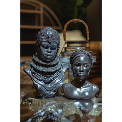 Objeto decorativo African Lady Choker