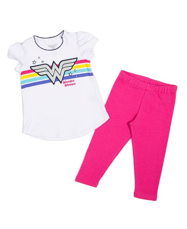 Conjunto Bebita Wonder Woman
