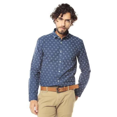 Camisa Manga Larga Murray para Hombre Color Siete