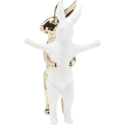 Figura decorativa Hugging Rabbits med.
