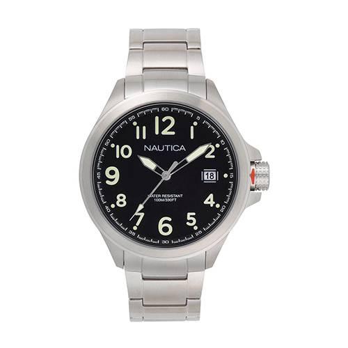 Reloj Glen Park Negro - Plateado