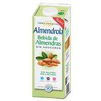Almendrola Bebida de Almendras Sin Azucar 1Lt