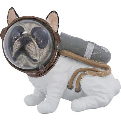 Figura decorativa Space Dog Sitting 18cm