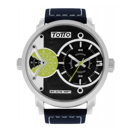 Reloj análogo negro-azul 03-3
