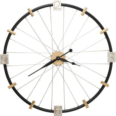 Reloj pared Spoke Wheel 80cm