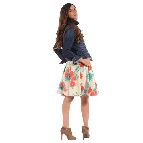 Falda Rosella Color Siete para Mujer - Floral Mix