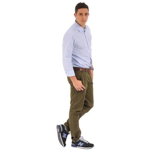 Camisa Manga Larga Springs Jack Supplies para Hombre- Azul