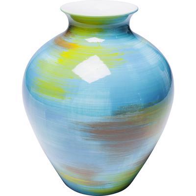 Vasija Arte Colore turquesa