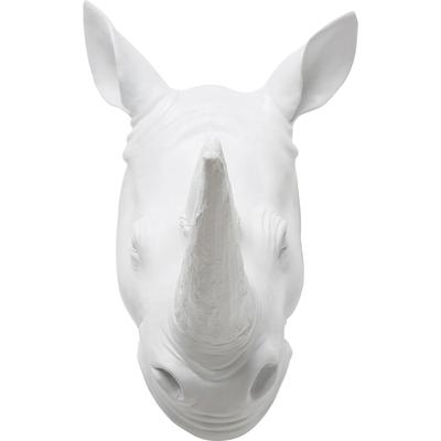 Objeto decorativo blanco Rhino