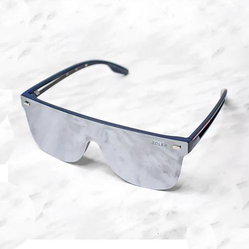 Gafas de sol polarizada con filtro UV 400 Gris Espejo - Azul