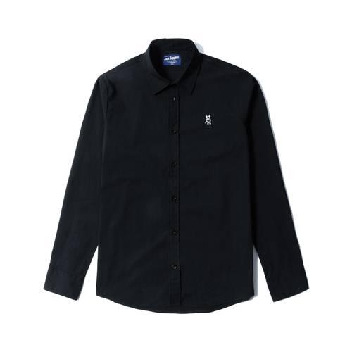 Camisa Manga Larga Jack Supplies Para Hombre - Negro