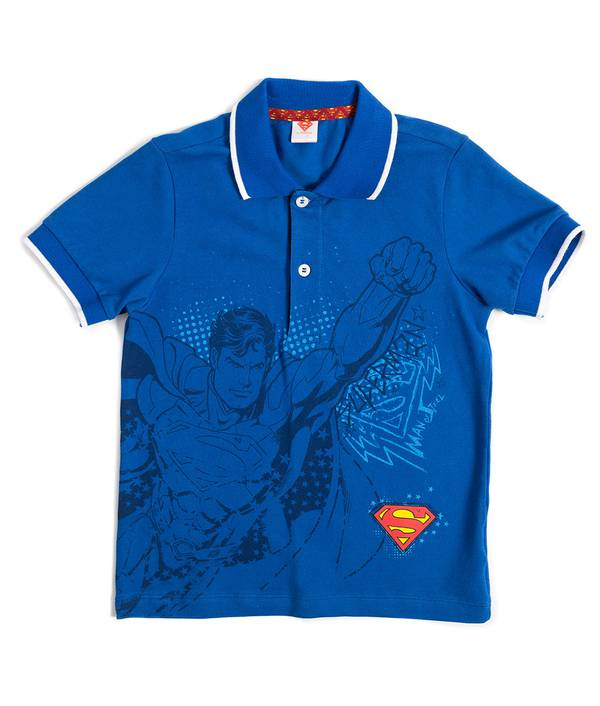 Camiseta Caminador polo Superman