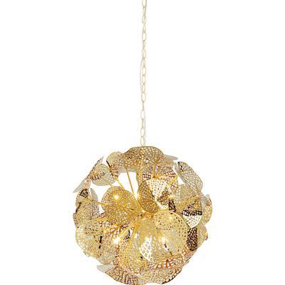 Lámpara Leaf Ball oro