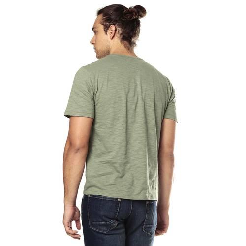 Camiseta Color Siete para Hombre-Verde