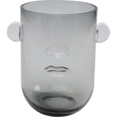 Vasija peq Face gris