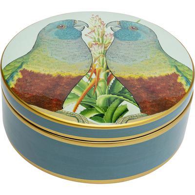 Caja decorativa Parrojo Couple Ø18cm