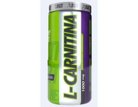 L CARNITINA 60 TABLETAS HEALTHY SPORTS