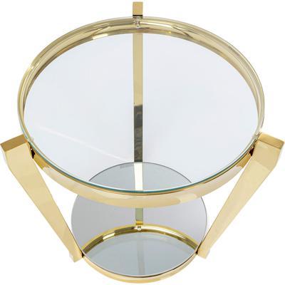 Mesa auxiliar Monocolo oro Ø50