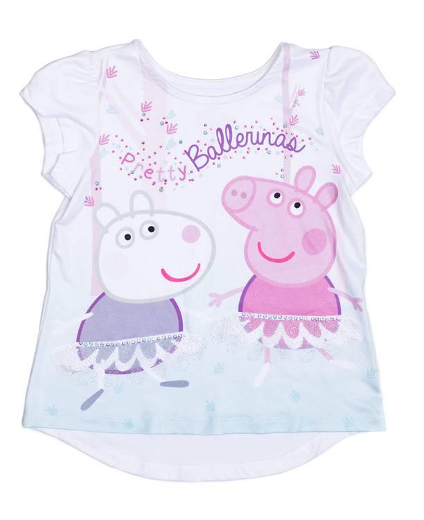 Camiseta Caminadora Peppa Pig