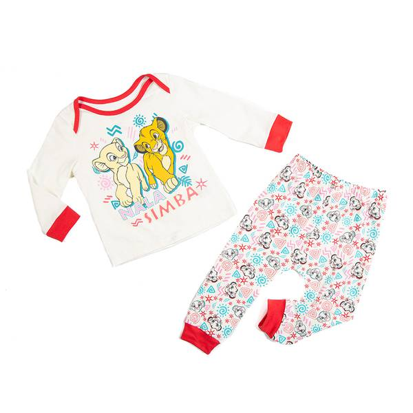Pijama Bebita Rey León
