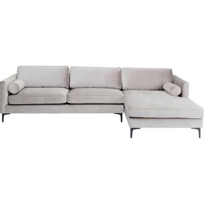 Sofá esq. Variete gris dcha 288x160cm