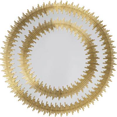 Espejo Solare oro Ø132cm