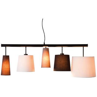 Lámpara Parecchi negro 140