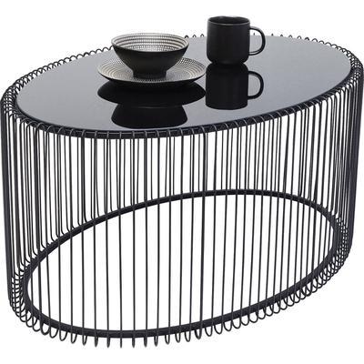 Mesa centro Wire Uno negro 60x90cm