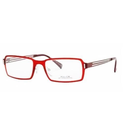 Gafas Oftálmicas Rojo-Transparente 8612-SBY