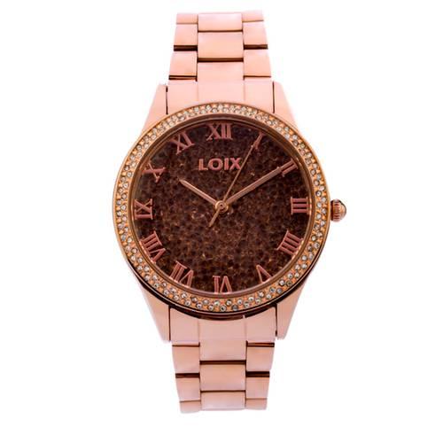 Reloj Gris - Rosa - L1155-03