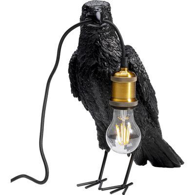 Lámpara mesa Crow mate negro