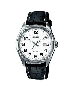 Reloj Análogo Blanco-Negro MTP-1302L-7B - Casio