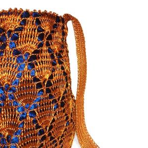 Bolso Monz Carter Cobre Azul 1  Unid