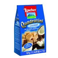 Galleta Quadratini Crema De Coconut 125g